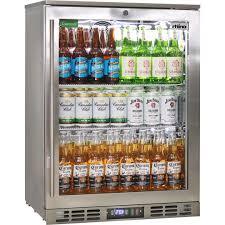 rhino 1 door heated glass door bar fridge brand parts heated doors to stop