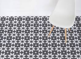 black and white vinyl flooring images
