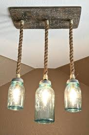 make a mason jar chandelier mason jar triple pendant light mason jar chandelier home depot
