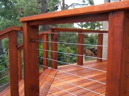 modern deck railing ultra cable other wire diy