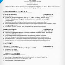 Autocad Draftsman Cad Engineer Sample Resume Inspirational Resume For Autocad
