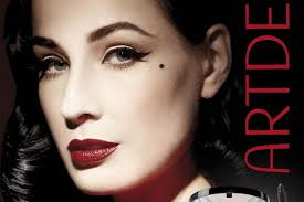 retro beauty and burlesque artist dita von teese and german makeup pany art deco are collaborating on a makeup collection the dita von teese clics