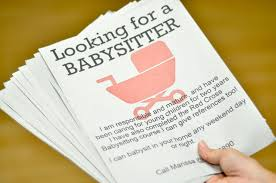 Babysitting Ads Nanny And Babysitting Jobs With Weekend Child Care Jobs Near Me And