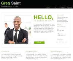 Free Online Portfolio Templates Free And Premium Website Templates