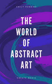purple paint strokes abstract art creativity book cover