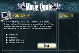 Movie Quote Trivia Amazing Movie Quote Trivia Game By Aerandur On DeviantArt