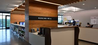 Interior design corporate office High End Austin Offices Perkins Will