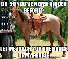 Let-Me-Teach-You-The-Dance-Of-My-People-Funny-Horse-Meme.jpg via Relatably.com