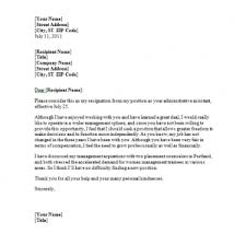If You Are Already In The Decision Well Thought The Following Are Examples Letter Resignation For Teachers