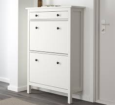 HEMNES shoe cabinet white new lower price