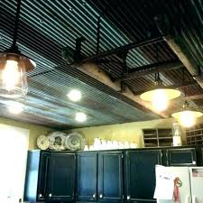 corrugated metal ceiling panels rustic tin corr