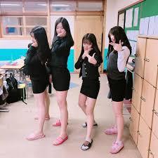 韓国学生に学ぶ韓国っぽい冬の制服着こなし術韓国情報サイト