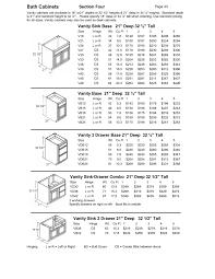 Standard Base Cabinet Dimensions Wwwmarryhouseinfokitchen Wall Cabinet Depth Gal Kitchen Base