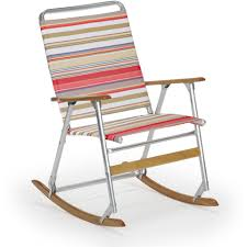telescope casual telaweave folding aluminum rocking beach chair