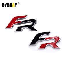 Fr. Excellent Pcs Fr Car Logo Mm Mm Wheel Center Hub Cap Car Front ...