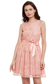 Peach Lace Dress Dresses For Women The Vanca Peach Dress Outfit