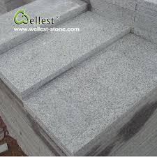 g603 light grey flamed granite flooring tile for building material