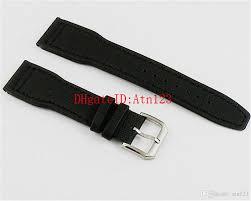 22mm black leather strap steel buckle wrisches band watchband watch strap 80mm 120mm genuine leather watch bands p105 genuine leather watchbands watch
