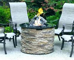 round gas fire pit table gas fire pit table for round stone propane fire round gas fire pit