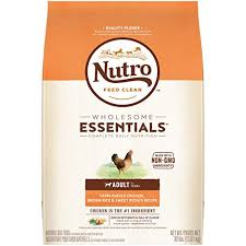 Nutro Wholesome Essentials Natural Adult Dry Dog Food Farm Raised Chicken Brown Rice Sweet Potato Recipe