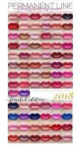 Lipsense Color Chart 2019 All The Lipsense Colors That Have Been Released In 2018