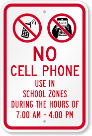 No Cell Phone Signs For Schools New School Ell Pinterest No