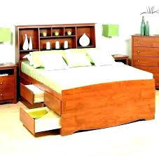 king bed with drawers. Full Bed With Drawers Size Captains Queen Storage . King E