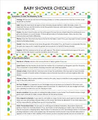 baby shower spreadsheet printable baby shower planner template 8 free pdf documents