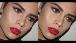 clic glam makeup look prom night out alannized you