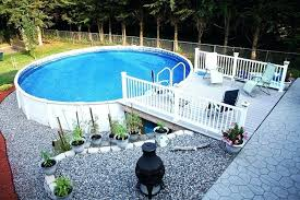 above ground swimming pool ideas. Above Ground Pool Ideas For Small Yards In Swimming Pools .