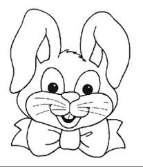 easter bunny coloring pages. Delighful Coloring Easter Bunny Coloring Pages With I