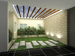 Small Picture Minimalist Indoor Garden Design Idea 4 Home Ideas
