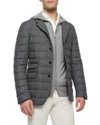 Comme des Garcons Junya Watanabe Comme Des Garons Man Quilted ... & ... Loro Piana Quilted Cashmere Blazer Dark Blue Out of stock ... Adamdwight.com