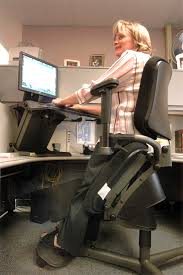 ergonomic chair desk system helps civilian stand to work u s air force article display