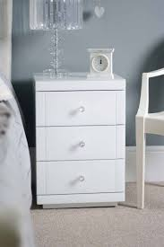 vegas white glass mirrored bedside tables. MY-Furniture - White Glass Bedside Table With 3 Drawers -(White Lucia): Amazon.co.uk: Kitchen \u0026 Home Vegas Mirrored Tables E