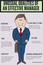 Qualities Of Manager Corporate Culture Management Positive Attitude