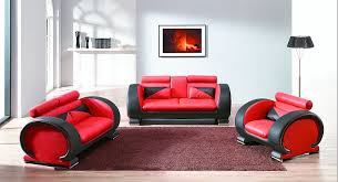 ... Red Couches For Sale Modern Livingroom Furniture Red Colored Leather  Sofa Black And Red ...