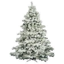 Flocked Christmas Tree Vickerman Flocked Alaskan Christmas Tree Flocked Christmas Trees