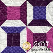Learn To Quilt Series - Beginner Quilt Kit & click on thumbnail to zoom Adamdwight.com