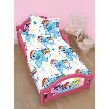 my little pony toddler bedding white