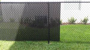 Pictures Of Chain Link Fence With Privacy Slats Fences Design