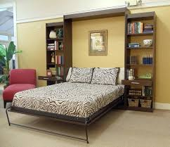Murphy Bed Plans With Table Kit Horizontal Desk And Shelves mcciecorg