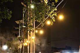 Dây đèn led trang trí sân vườn ngoài trời cho quán cà phê, trà chanh, trà  sữa năng lượng mặt trời solar GIVASOLAR GV-SSL516 - Đèn ngoài trời