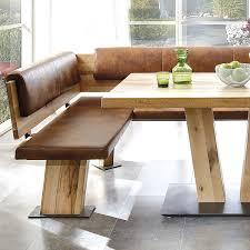Elegant Eckbank Für Küche Leder