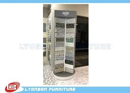 Painting Display Stands Silver Rotate Round Wooden Display Stands For Mosaic Selling 42