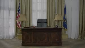 white house oval office desk. Oval Office Desk And Moving Through Room Of White House Stock Video Footage - Videoblocks