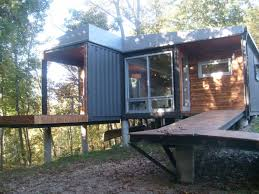 Container Ship Homes In Shipping Container Homes The 8747 House The James  River