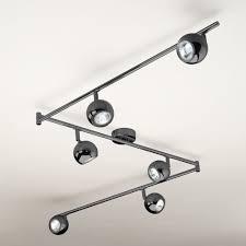 kitchen ceiling spot lighting. Modern Black Chrome 6 Way Adjustable Ceiling Spot Light Spotlight Fitting Lights Kitchen Lighting S