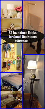 Small Bedroom Hacks 30 Ingenious Hacks For Small Bedrooms Diy Now