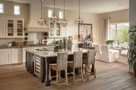 transitional kitchen lighting. The Cluster Of Light Fixtures Above This Large Kitchen Counter Adds A  Special Touch And Also Shows That You Can Create Unique Lighting Designs Any Transitional L